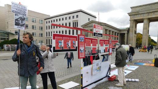 17.10.2020 - BEENDET DEN KRIEG IM JEMEN! STOPPT DIE RÜSTUNGSEXPORTE AN DIE SAUDI/EMIRATI-KRIEGSKOALITION