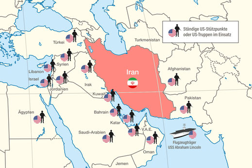 Bild: Der Postillion vom 19.05.2019 - Die Bedrohung durch den Iran