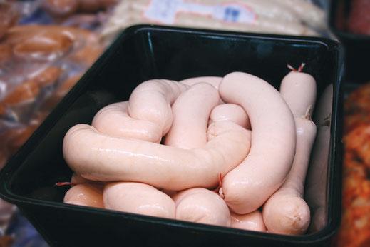 schlesische Weißwurst