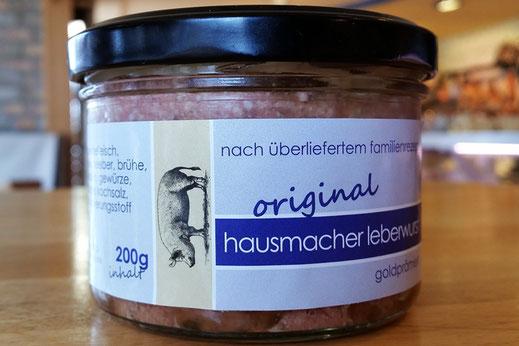 hausmacher Leberwurst im Glas