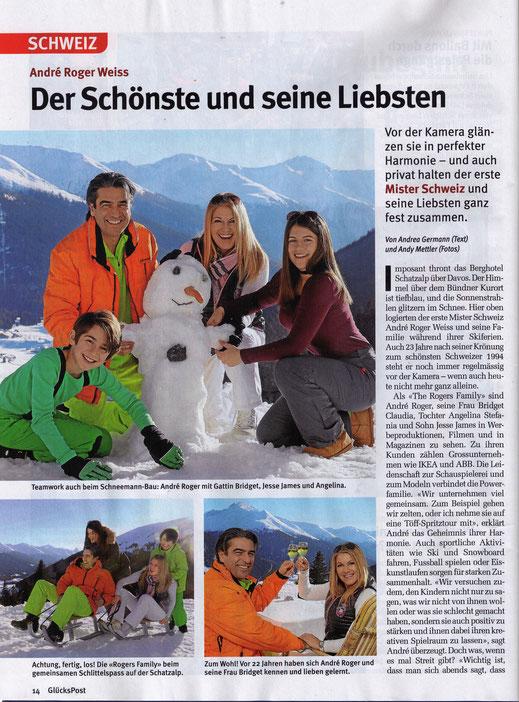 The Rogers Family, erste Mister Schweiz, Schatzalp, Davos
