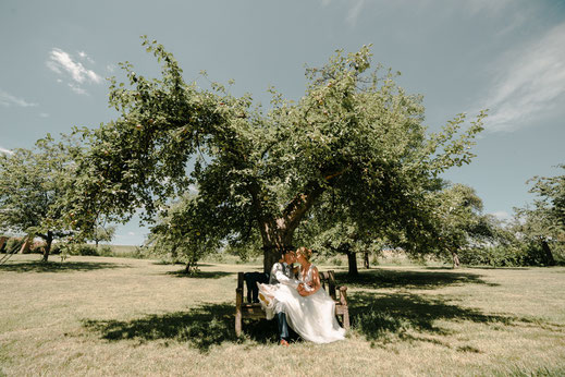 emotionale und natürliche Hochzeitsfotos Mainfranken, Unterfranken, Bayern