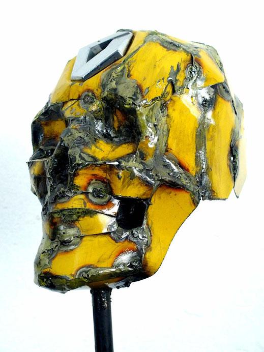 """""""Omaggio a Rekowski"""" 2015 Iron - 16 x 26 x 22 cm"""