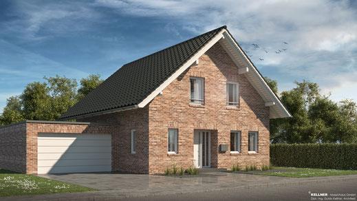 Entwurfsvorschlag - Massivhaus - Satteldach