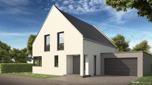 Entwurfsvorschlag - Massivhaus - Mauergiebel