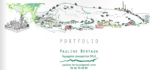 Portfolio Pauline Bertaux paysagiste