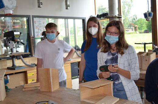 Schüler der Hans-von-Raumer-Mittelschule Foto: Michaela Niebuhr