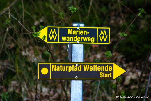 Weltendewanderung mit Wanderführer Rainer Lemmer