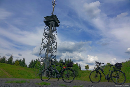 Radtour zur Fuchskaute im Westerwald