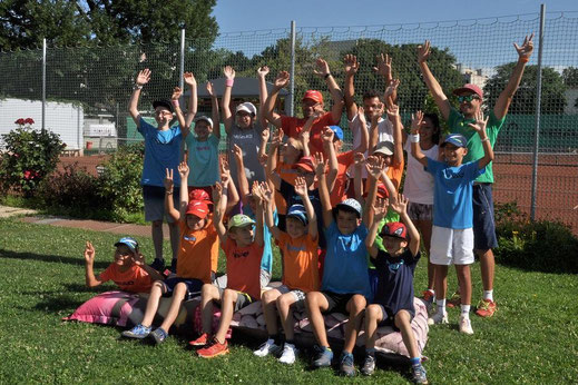 AZ Tennis Kids beim Sommercamp