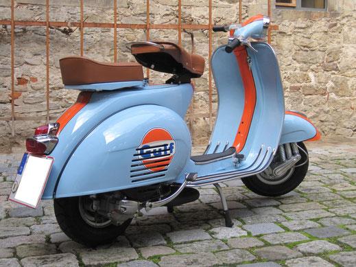 Vespa Custom Scootershop