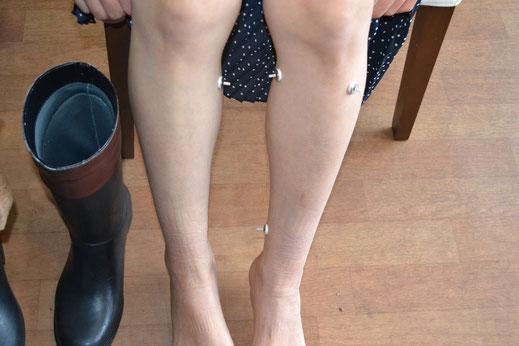婦人科系のツボは足に多いものです
