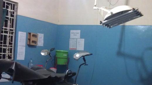 Die selbstgebaute OP-Lampe