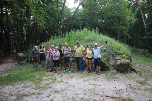 Megalith Polen Exkursion Erlebnis Archäologie
