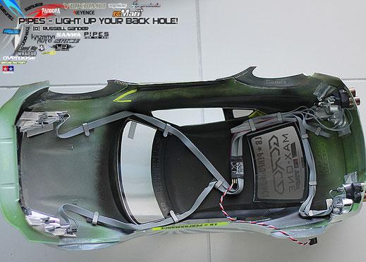 P!PES, Super Real Parts, SRP, RC drift, Japan, RC, backfire rc, BLU, backfire unit, BLU, Backfire lightunit, PLU, P!PES Light unit, rc led, L!GHTS, brake kit rc, lighkit rc, rc brakebar, re-xtreme, BLU kit, brake unit, lightkit, led kit rc