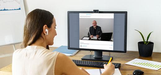 """Online Seminar """"so entstehen verkaufsstarke Texte"""" des Texterclub"""
