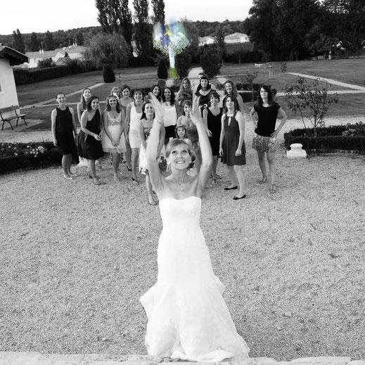 Le lancer du bouquet