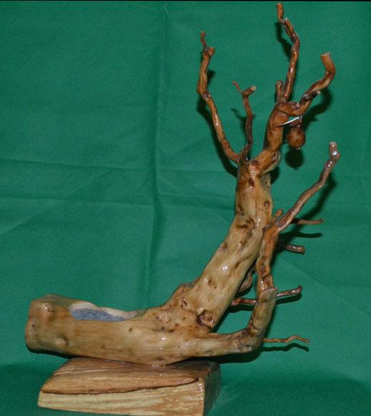 schmuck schmuckbaum baum ständer schmuckständer holz wurzel