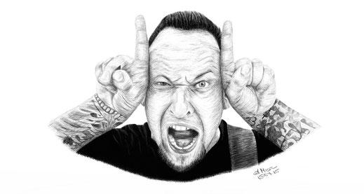 """Michael Poulsen von """"Volbeat"""""""