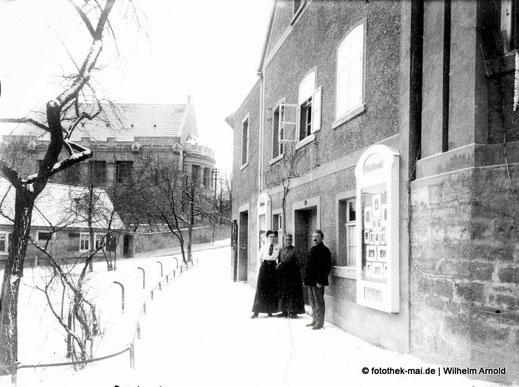 Eröffnung des Ateliers Wilhelm Arnold in Freyburg/Unstrut um 1914