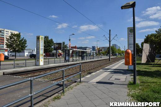 Tramhaltestelle Alte Hellersdorfer Str/Zossener Str. |Foto: Dennis Brätsch