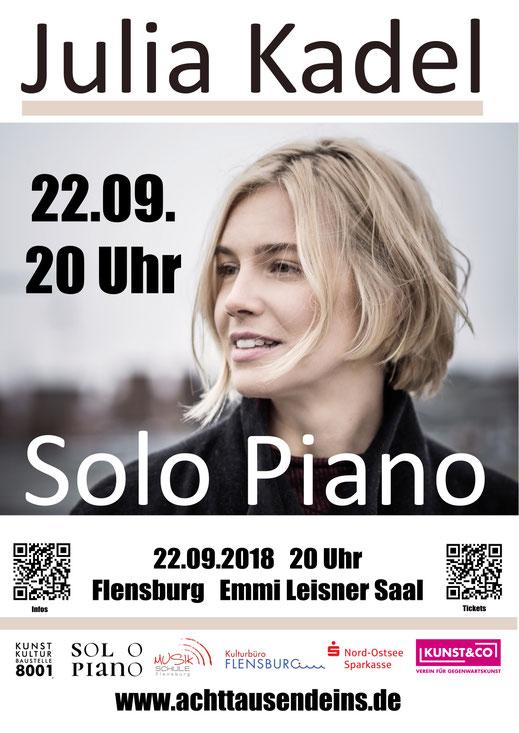 Kunst und Kultur Baustelle 8001 e.V., Solo Piano