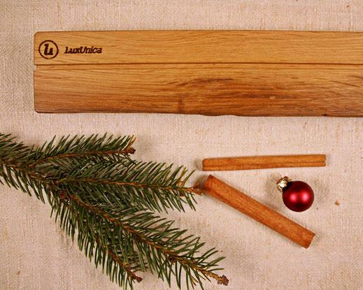 Upcycling Weihnachtsgeschenk Regalleiste