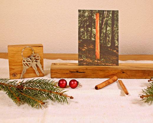 Upcycling Weihnachtsgeschenk Magnethalter und Wandleiste