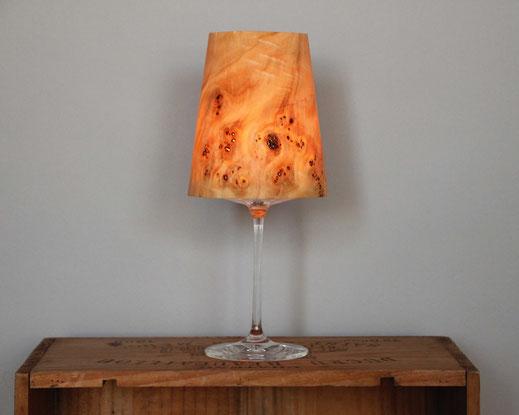 Upcycling Windlicht Vinum