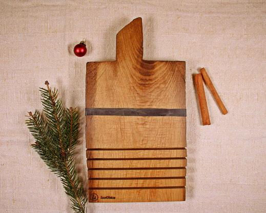 Upcycling Weihnachtsgeschenk Schlüsselbrett