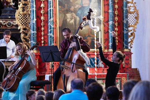 Solsberg-Festival, Sol Gabetta, Alexander Gabrys, Fabian Gysling