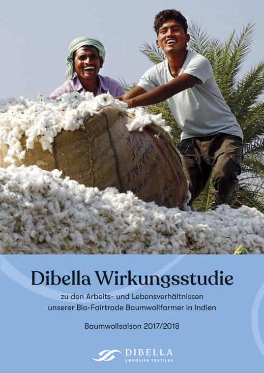 Eine beeindruckende Datensammlung: Die erste Dibella Wirkungsstudie vermittelt einen Einblick in die Lebens- und Arbeitsverhältnisse der Bio-Fairtrade Baumwollfarmer in Indien.
