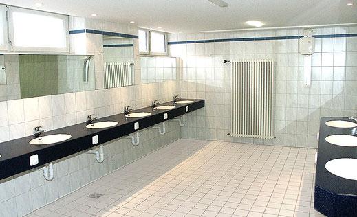Saubere Sanitäranlagen im Kaiser Camping in Bad Feilnbach