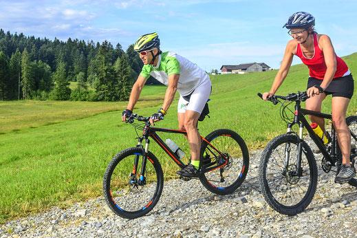 Radfahren rund um den Campingplatz in Bad Feilnbach