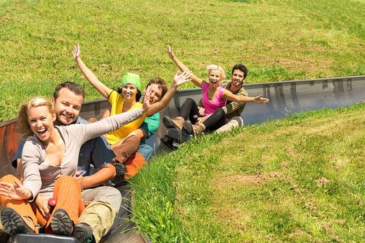 Sommerrodelbahn Hocheck Nähe Kaiser Camping Campingplatz