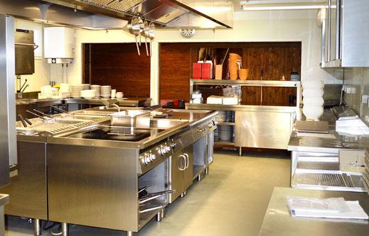 Die Küche der Kaiser Alm im Campingplatz