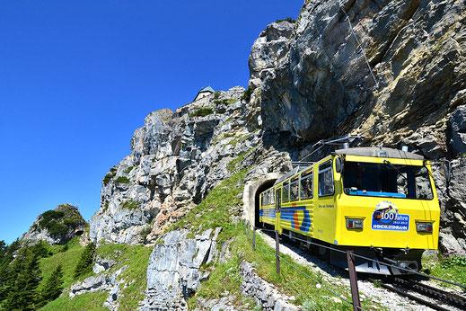 Wendelsteinbahn, Ausflug vom Kaiser Camping
