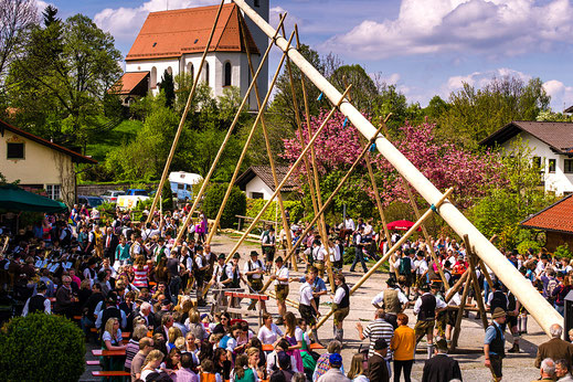 Bayerische Tradition im Campingplatz in Bad Feilnbach