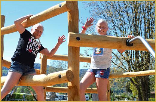 Spielplatz im KAISER CAMPING in Bad Feilnbach