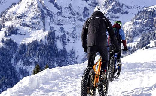 Wintersport im Campingplatz in Bad Feilnbach