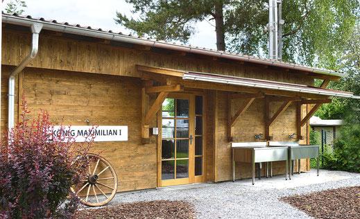 Schöne Sanitäranlagen im Kaiser Camping in Bad Feilnbach