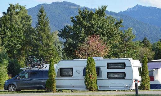 Saisonplätze Sommer u. Winter, Kaiser Camping, Bad Feilnbach