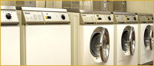 Waschmaschine im KAISER CAMPING in Bad Feilnbach