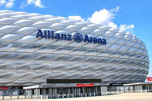 Allianz Arena, Ausflug vom Kaiser Camping aus