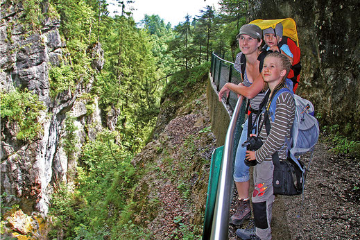 Wandertouren ab dem Campingplatz in Bad Feilnbach