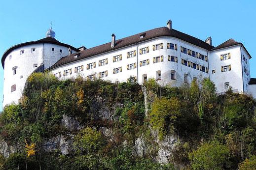 Festung in Kufstein, Ausflug vom Kaiser Camping aus