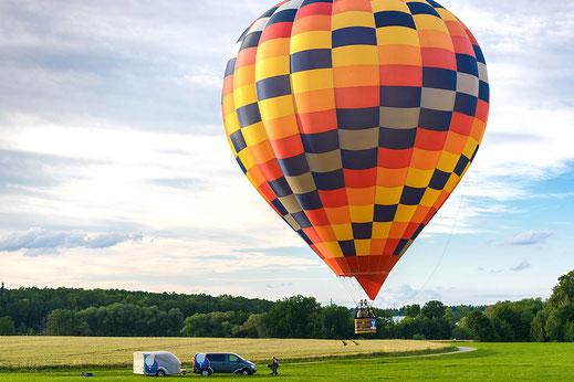 Ballonfahren am Chiemsee