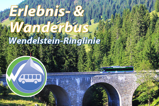 Wanderbus Wendelstein-Ringlinie, Abfahrt am Kaiser Camping Bad Feilnbach
