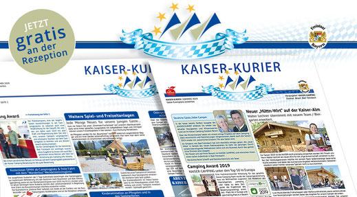 Aktuelle Termine und Veranstaltungen im Kaiser Camping