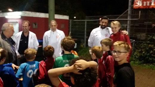Eintracht Frankfurt Weihnachtsfeier.Fußballschule Eintracht Frankfurt Bei Rwe 11 2015 Sv Rot Weiß